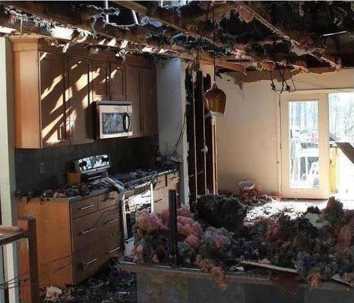 Fire Damage – Wilmington Home  Before