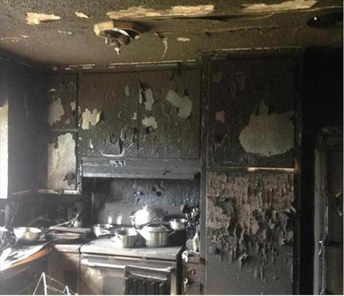 Wilmington Scorched Kitchen and Fire Replacement Before
