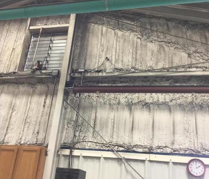 Fabricating Warehouse Suffers Smoke Damage in Wilmington Before