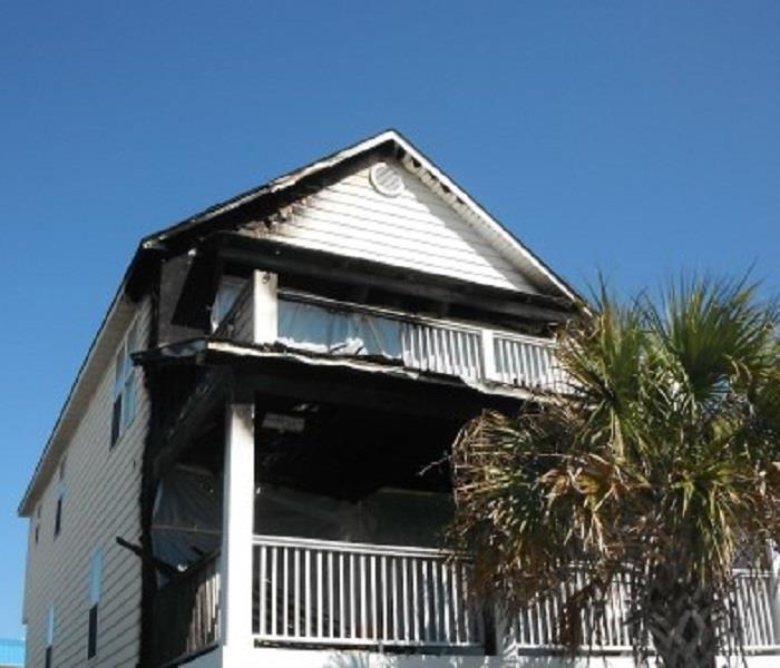 House Fire in Surf City